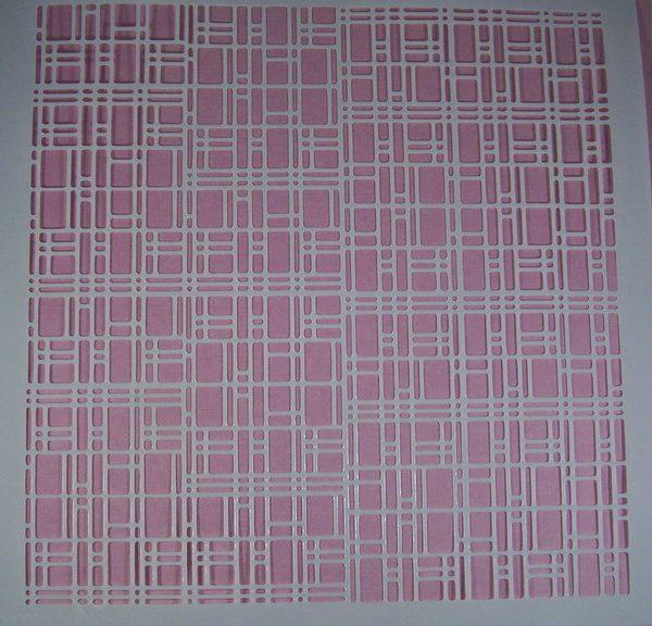 Stencil Fantasy Square (XX-Large)