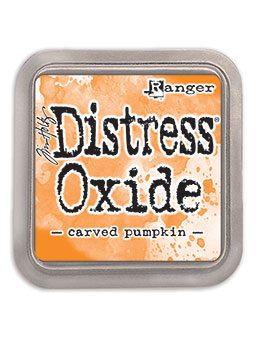 DIST OXIDE PAD 3 X 3, CARVED PUMPKIN LET OP PRE ORDER!!