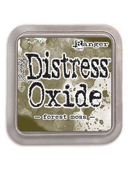 DIST OXIDE PAD 3 X 3, FOREST MOSS LET OP PRE ORDER!!