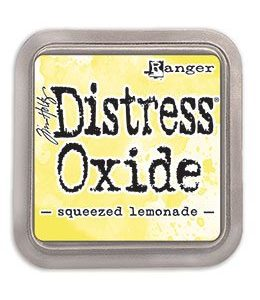 DIST OXIDE PAD 3 X 3, SQUEEZED LEMONADE LET OP PRE ORDER!!
