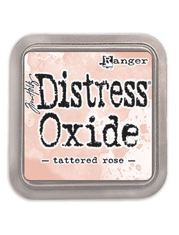 DIST OXIDE PAD 3 X 3, TATTERED ROSE LET OP PRE ORDER!!
