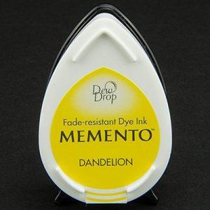 Memento Dew Drops Dandelion