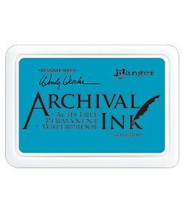 Archival Ink Blue Bird