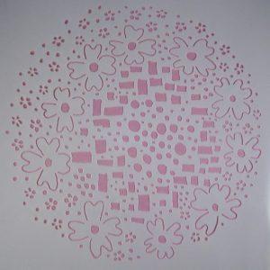 Stencil Mandala stijl 1 (Xx-Large)