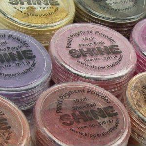 Set 13 stuks Shine Pigmentpoeder