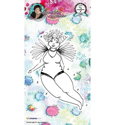 STAMPBM03 - Cling Stamp Chubby Chicks Art By Marlene nr.03