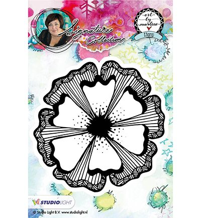 STAMPBM07 - Cling Stamp bloemen, Art By Marlene nr.07