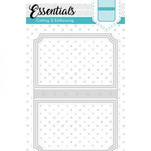 STENCILSL97 - Embossing Die Cut Stencil Essentials nr.97