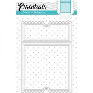 STENCILSL98 - Embossing Die Cut Stencil Essentials nr.98