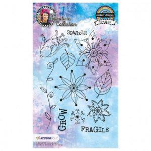 Studio Light clear stamp A5 Rainbow designs signature nr.14 PRE ORDER!