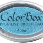 Clearsnap ColorBox Pigment Ink Cat's Eye Aqua