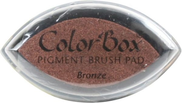 Clearsnap ColorBox Pigment Ink Cat's Eye Bronze
