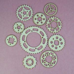 Chipboard set Gears stijl 2 klein