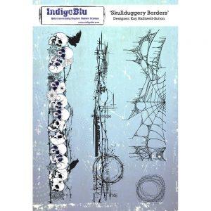 IndigoBlu Mot IndigoBlu Skullduggery Borders A5