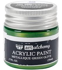 Art Alchemy Metallique Green Olive