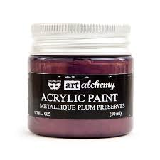 Art Alchemy Metallique Plum Preserves