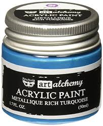 Art Alchemy Metallique Rich Turquoise
