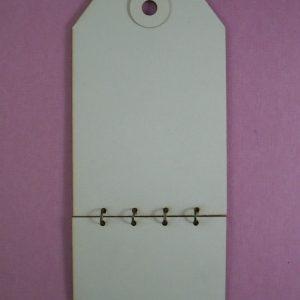 Chipboard Tag Stijl 4