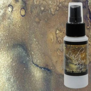 Lindy's Stamp Gang Silhouette Silver Moon Shadow Mist