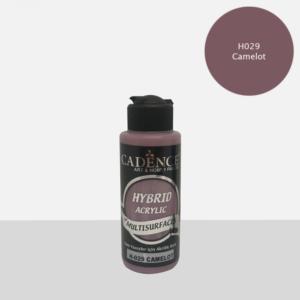 Cadence Hybrid metallic acrylic paint (semi matt) Camelot 0029 120 ml