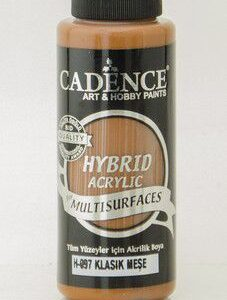 Cadence Hybrid acrylic paint (semi matt) Classic Oak 0097 120 ml
