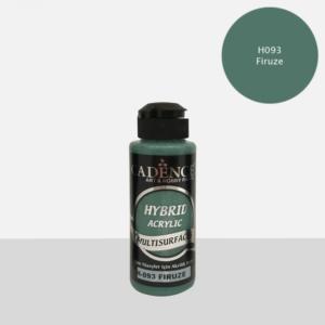 Cadence Hybrid acrylic paint (semi matt) Firuze 0093 120 ml