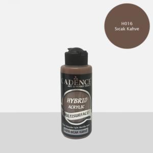 Cadence Hybrid metallic acrylic paint (semi matt) Sicak Kahve 0016 120 ml