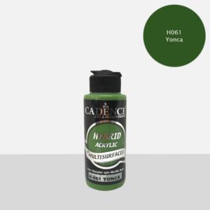 Cadence Hybrid metallic acrylic paint (semi matt) Yonca 0061 120 ml
