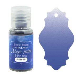 DRY PAINT MAGIC PAINT BERLIN BLUE 15ML