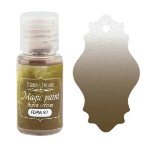 DRY PAINT MAGIC PAINT BURNT UMBER 15ML