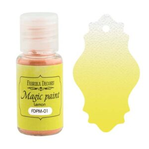 DRY PAINT MAGIC PAINT LEMON 15ML