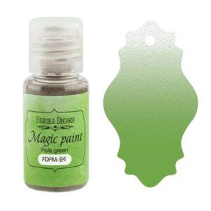 DRY PAINT MAGIC PAINT PALE GREEN 15ML