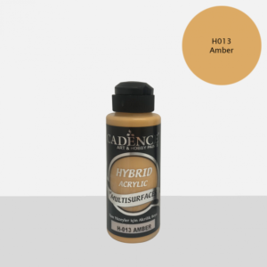 Cadence Hybrid acrylic paint (semi matt) Amber 0013 120 ml