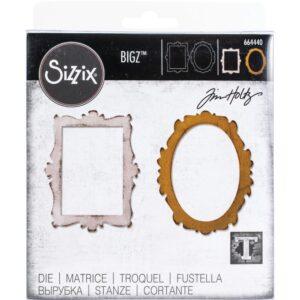 Sizzix Bigz Die By Tim Holtz Decor Frames