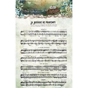 JMA-NA-STAMP18 - JMA Clear Stamp Sheet music New Awakening nr.18