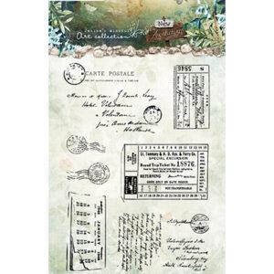 JMA-NA-STAMP20 - JMA Clear Stamp Postcards & tickets New Awakening nr.20
