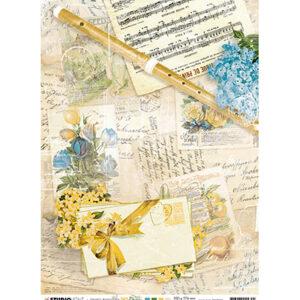 JMA-NA-RICE02 - JMA Rice paper Flute, sheet music, notes New Awakening nr.02