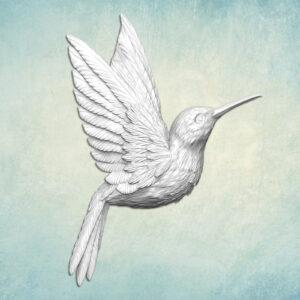Mold Bird Hummingbird Right