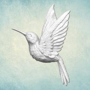 Mold Bird Hummingbird Left