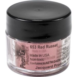 Jacquard Pearl Ex Powdered Pigment 3g Red Russet