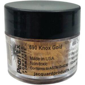Jacquard Pearl Ex Powdered Pigment 3g Knox Gold