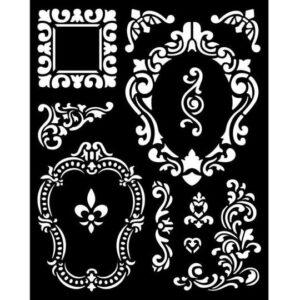 KSTD092 Thick Stencil 20x25 Alice Frames
