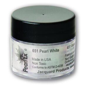 Jacquard Pearl Ex Powdered Pigment 3g Pearl White