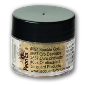Jacquard Pearl Ex Powdered Pigment 3g Sparkle Gold