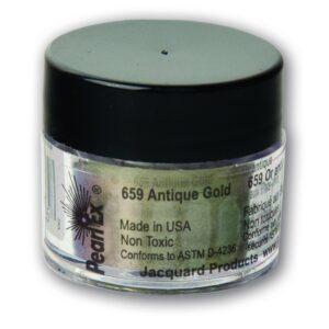 Jacquard Pearl Ex Powdered Pigment 3g Antique Gold