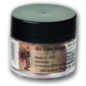 Jacquard Pearl Ex Powdered Pigment 3g Super Bronze