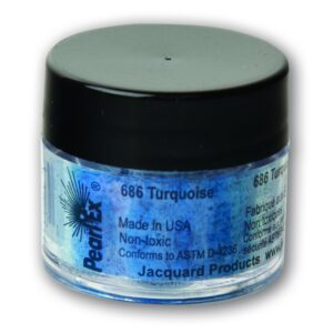 Jacquard Pearl Ex Powdered Pigment 3g Turquoise