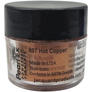 Jacquard Pearl Ex Powdered Pigment 3g Hot Copper