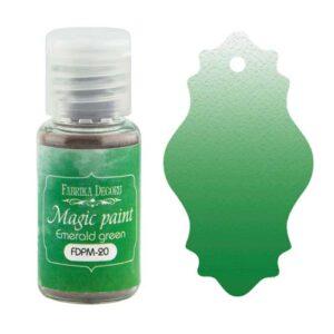 DRY PAINT MAGIC PAINT EMERALD GREEN 15ML