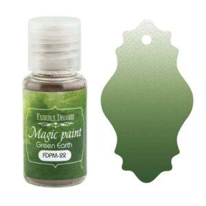 DRY PAINT MAGIC PAINT GREEN EARTH 15ML